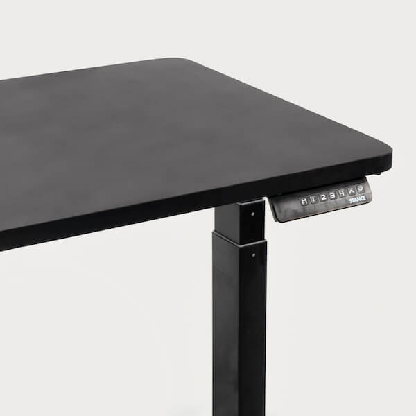 Stance Executive Electric Desk Control Panel with Black Tabletop