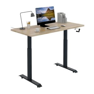 Stance Manual Executive Stanidng Desk - 45 Degree View