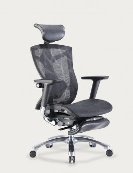 Stance Cradle Unwind Nap Chair with Headrest and Footrest 45 Degree Full View