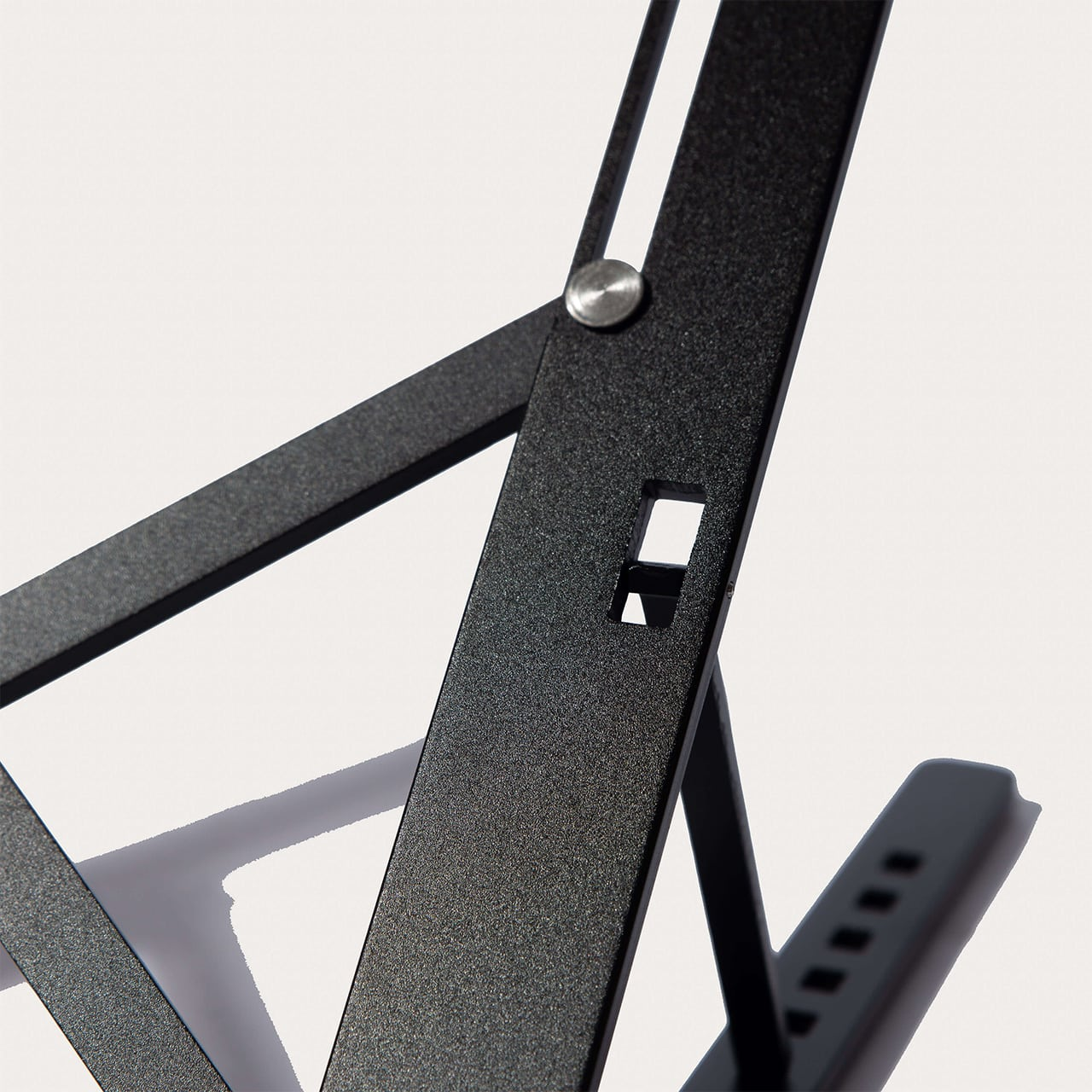Black Stance Laptop X Stand Close View